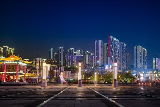 City, Skyscraper, Guizhou, Guiyang