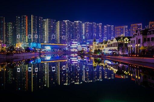 Guizhou, Guiyang, Zhongtian Future Ark, City