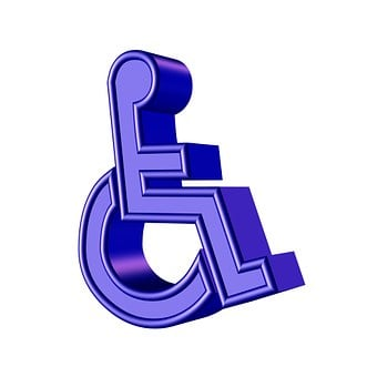 Disabled, Sign, Symbol, Wheelchair, Help, Handicapped