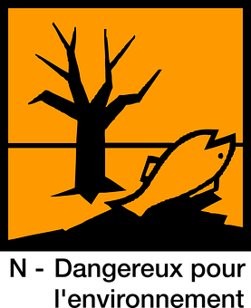 Sign, Dangerous For The Environment, Hazardous, Symbol