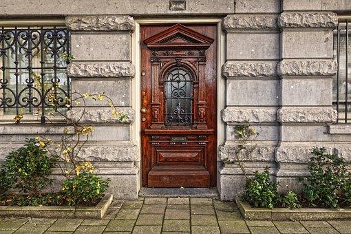 Door, Wooden Door, Front Door, Classic, Entrance, House