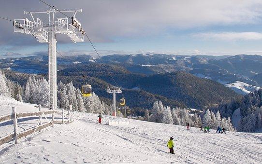 Snow, Winter, Mountain, Cold, Sport, Landscape, Alpine
