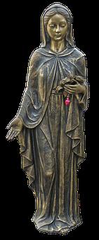 Figure, Statue, Maria, Pietà, Female, Madonna
