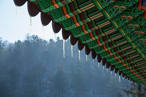Icicle, Eaves, Mono, Korean Traditional