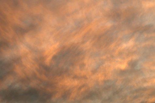 The Background, Clouds, Orange, Pink, Kłębiaste, Nature