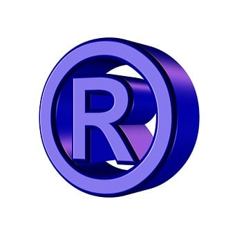 Registered, Trademark, Symbol, Property, Law