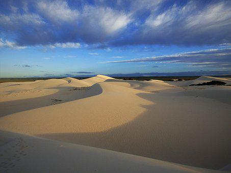 Sand, Desert, Landscape, Waters, Nature, South Africa
