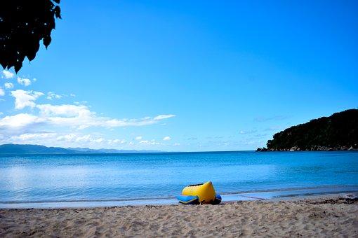 Body Of Water, Beach, Sand, Travel, Sea, Summer, Nature