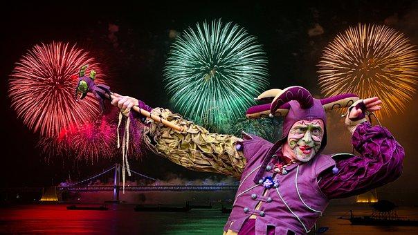 New Year, 2018, Festival, Celebration, Party, Fun