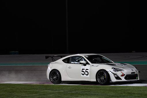 Car, Hurry, Race, Competition, Fast, Action, Track