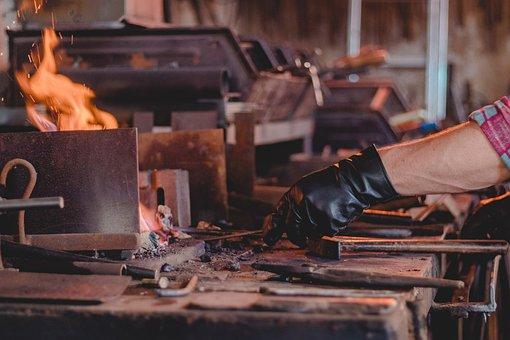 Human, Craftsmen, Adult, Industry, Blacksmith, Handmade