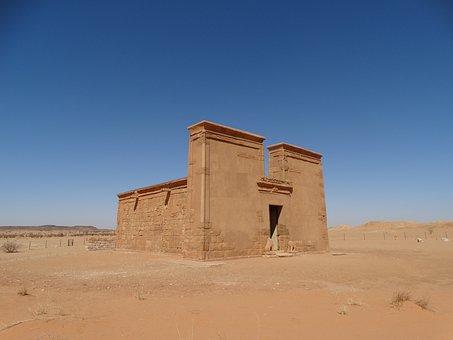 Khartoum, Meroe, Desert, Archaeology, Trip, Sky