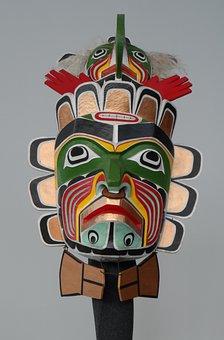 Mask, Shamanism, Artifact, Religion, Wood