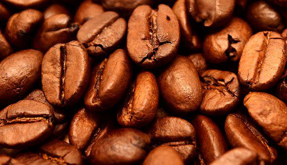Coffee, Coffee Beans, Cafe, Roasted, Caffeine, Brown