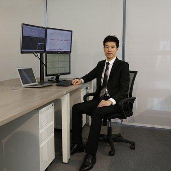 Office, Desk, Commercial, Computer