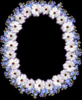 Frame, Border, Floral, Decorative