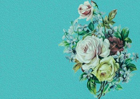 Flower, Plant, Nature, Background, Album, Diary