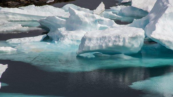 Drift Ice, Frozen, Sea, Wilderness, Ice, Landscape
