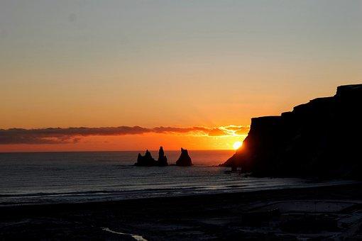 Sunset, Dawn, Water, Dusk, Evening, Sea, Sky, Sun