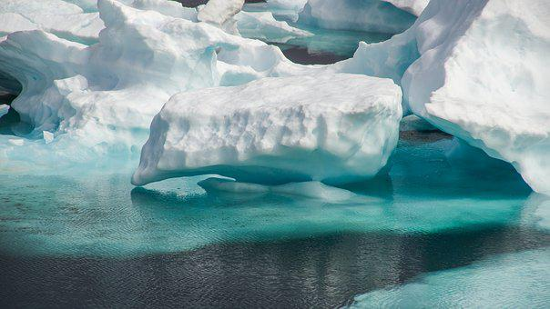 Drift Ice, Frozen, Sea, Wilderness, Ice, Landscape