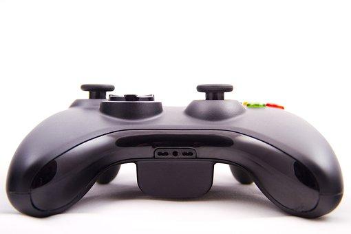 Game Joystick, Joystick, Gamepad, Controller, Button