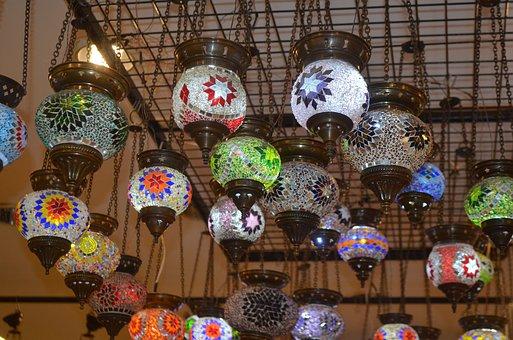 Oriental Lanterns, Lamp, Art, Souvenir, Turkey