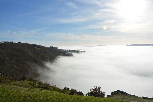 Clouds, Hazy Landscape, Stratus, Landscape View, Nature
