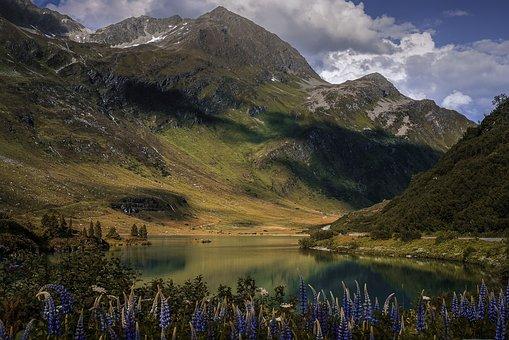 Nature, Zeinissee, Vorarlberg, Camping, Mountains