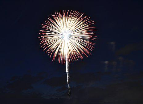 Fireworks, New Year's Eve, Pyrotechnics, Night