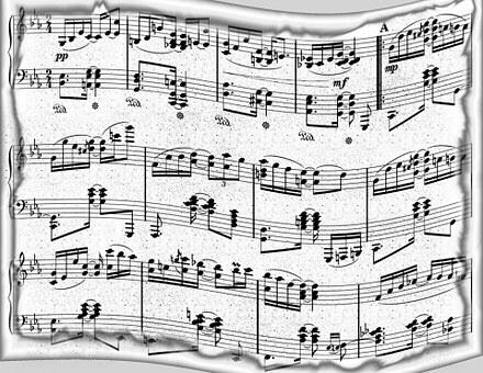 Music, Paper, Background, Design, Retro, Musical