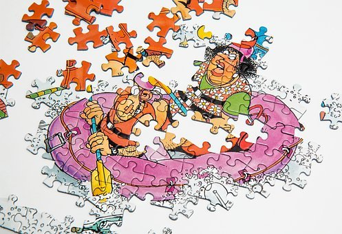 Jigsaw Puzzle, Leisure, Piece, Game, Toy, Solution