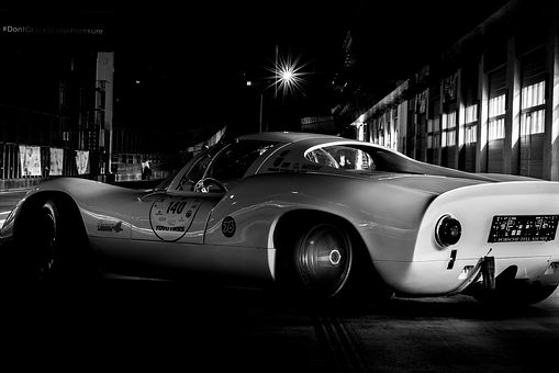 Auto, Vehicle, Oldtimer, Porsche, Race Track