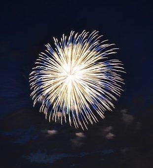 Fireworks, Explosion, Festival, Rocket, Quarter