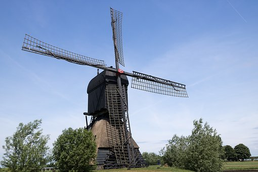 Wind Mill, The Dome Of The Sky, No Person, Outdoor