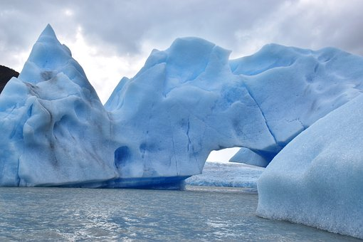 Iceberg, Ice, Water, Frozen, Melting