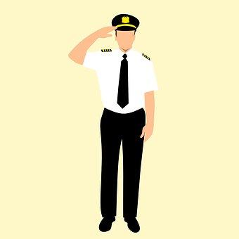 Airline, Badge, Cap, Captain, Caucasian, Clothing, Crew