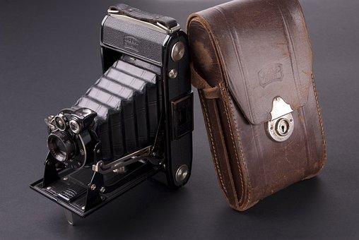 Old Camera, Vintage, Bag, Case, Retro, Classic