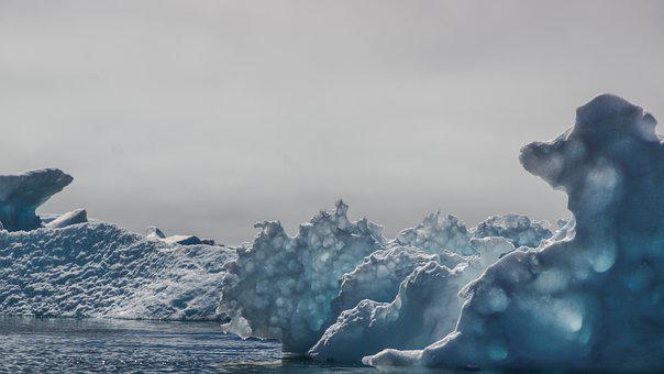 Drift Ice, Sculpture, Iceberg, Formation, Natural