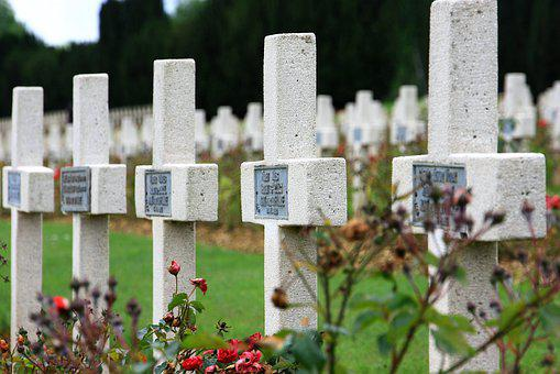 Cemetery, Death, Tombstone, Grave, Military Cemetery