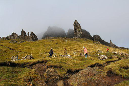 Old Man Of Storr, Landscape, Nature, Mountain, Outdoors