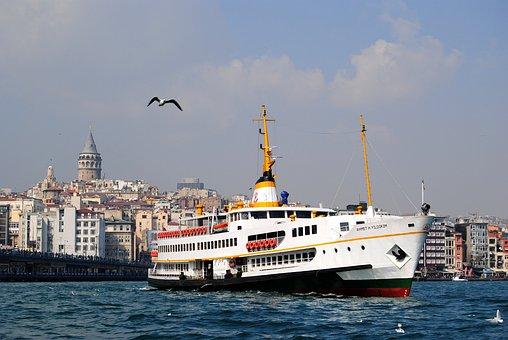 Bosphorus, Ship, Istanbul, Ferry