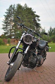 Motorcycle, Harley-davidson, Street Bob, 2013 Fxdb