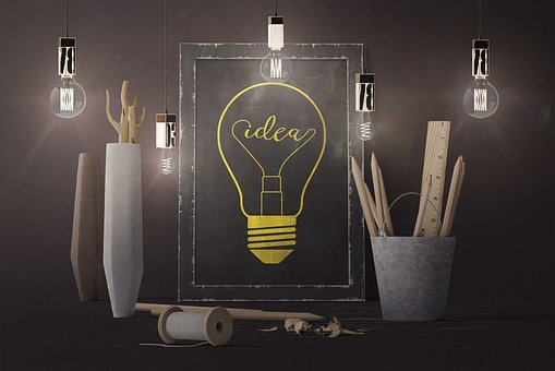 Glass, The Light Bulb, Candle, Electricity