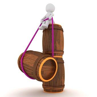 Wine Barrel, Barrel, Wooden Barrels, Stock, Barrels