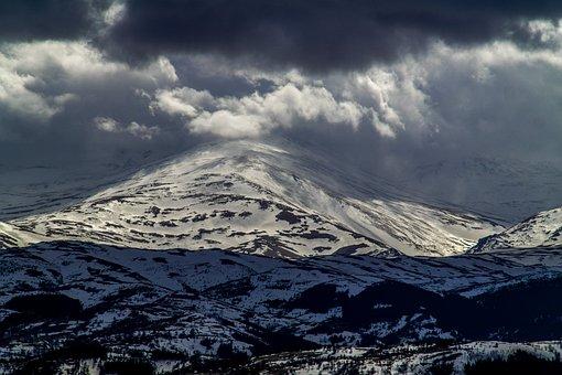 Snow, Panoramic, Mountain, Ice, Nature, Outdoor, Winter