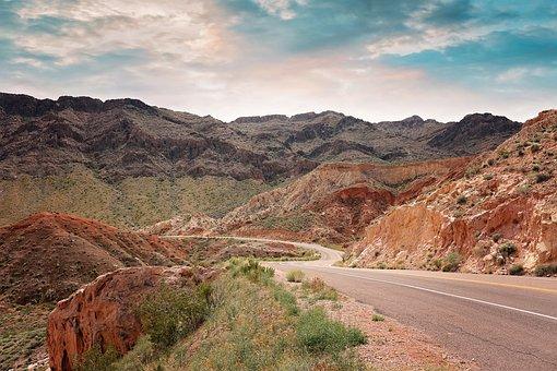 Hiking, Hoover Dam, Lake Mead, Las Vegas, Arizona, Rock