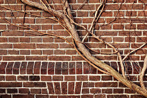 Wall, Brick Wall, Brown Brick Wall, Brown Brick