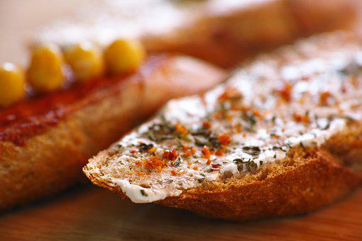 Bread, Cheese, Fried, Breakfast, Food, Roasted Bread