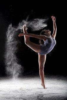 Dance, Beauty, Flour, Girl, Dancer