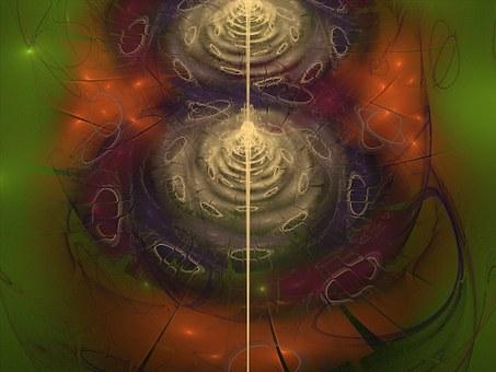 Flower, Fractal, Flame, Render, 3d, Pattern, Decorative